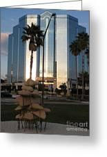 Sarasota Waterfront - Art 2010 Greeting Card
