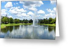 Saratoga Springs Resort Walt Disney World Greeting Card