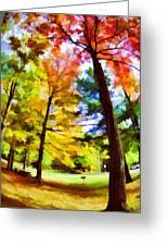 Saratoga Tree Greeting Card