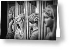 Sarcophagus Of The Crying Women II Greeting Card
