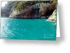 Sardegna Sea Greeting Card