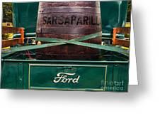 Sarsaparilla Greeting Card