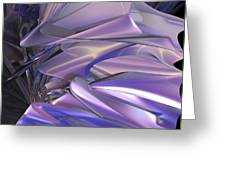 Satin Wing By Jammer Greeting Card