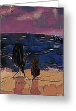 Saturday Seaside Greeting Card