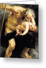 Saturn Devouring His Son Painting By Peter Paul Rubens