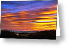 Sauble Sunset Greeting Card