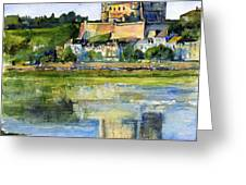 Saumur Chateau France Greeting Card