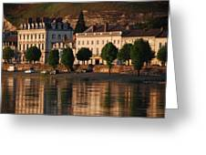 Saumur Reflected Greeting Card