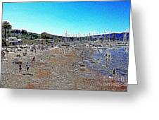 Sausalito Beach Sausalito California 5d22696 Artwork Greeting Card