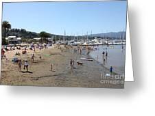 Sausalito Beach Sausalito California 5d22696 Greeting Card by Wingsdomain Art and Photography