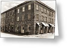 Savannah Building Greeting Card