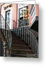 Savannah Stairs Greeting Card