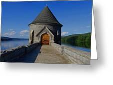Saville Dam Greeting Card by Stephen Melcher