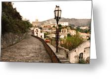 Savoca Italy Greeting Card