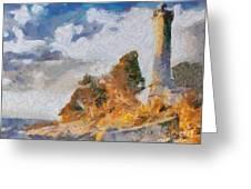 Savudrija Lighthouse Greeting Card