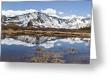 Sawatch Range In Spring Greeting Card