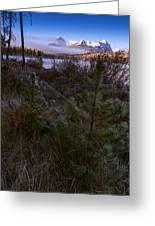Sawtooth Mountain Greeting Card