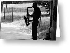 Saxoman Greeting Card