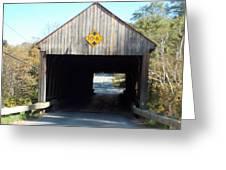 Sayres Covered Bridge Greeting Card