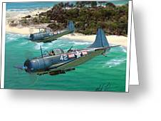 Sbd Dauntless Greeting Card