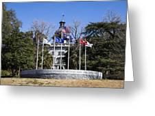 Sc Veterans Monument Greeting Card