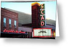 Scad Greeting Card