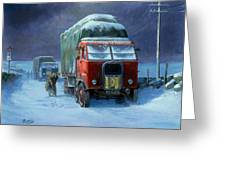 Scammell R8 Greeting Card by Mike  Jeffries