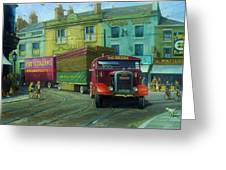 Scammell Showtrac Greeting Card
