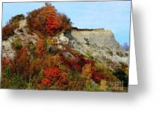 Scarborough Bluffs In Colour Greeting Card
