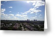 Scarborough City View Greeting Card