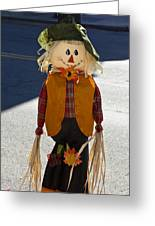 Scarecrow 4 Greeting Card