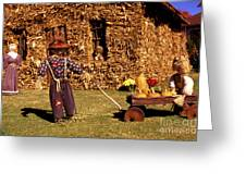 Scarecrows Play Too Greeting Card