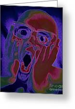 Scared Silly Greeting Card