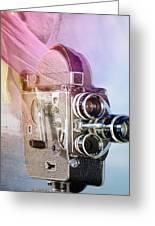 Scarf Camera Greeting Card