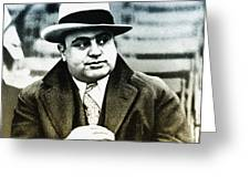 Scarface - Al Capone Greeting Card
