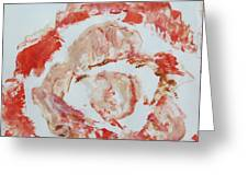 Scarlet Beauty Greeting Card