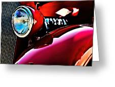 Mercury Coupe Greeting Card