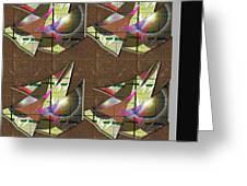 Scarves 2 Greeting Card