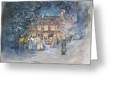 Scene From Jane Austens Emma Greeting Card