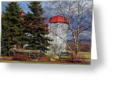 Scene In Vermont Greeting Card