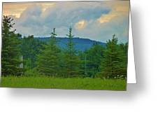Scenery In Northern Pa Greeting Card