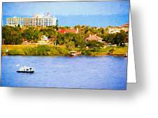 Scenes On The Water Greeting Card