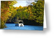 Scenic Autumn Viewing Greeting Card
