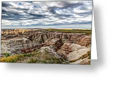Scenic Badlands Greeting Card