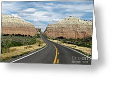 Utah's Scenic Byway 12 - An All American Road Greeting Card