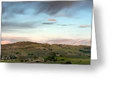Scenic California Farmland Greeting Card