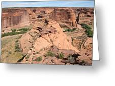 Scenic Canyon De Chelly  Greeting Card