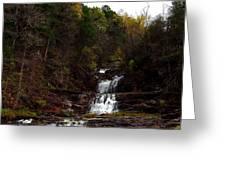 Scenic Kent Falls Greeting Card