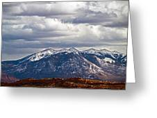Scenic Moutains Greeting Card