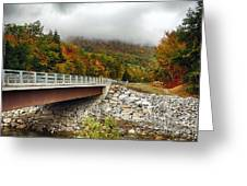 Scenic New Hampshire Drive Greeting Card